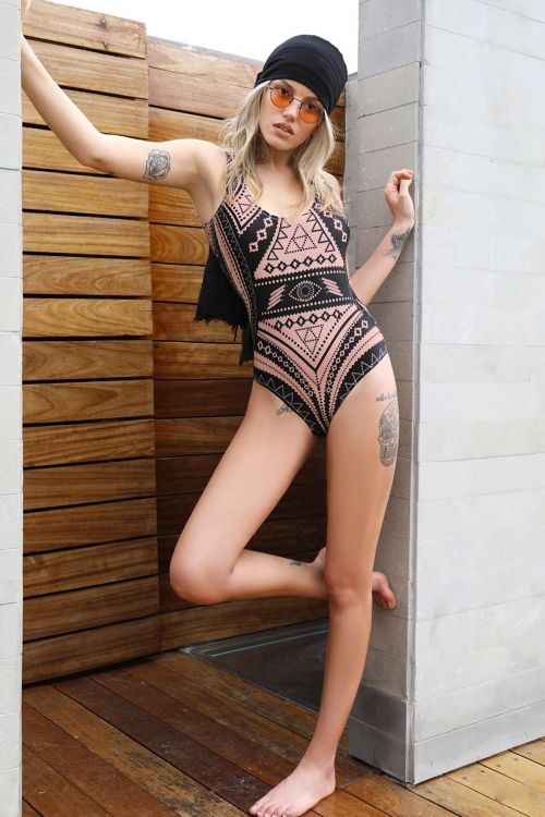 PEACE AND CHAOS MALI SWIMSUIT - Τύπος