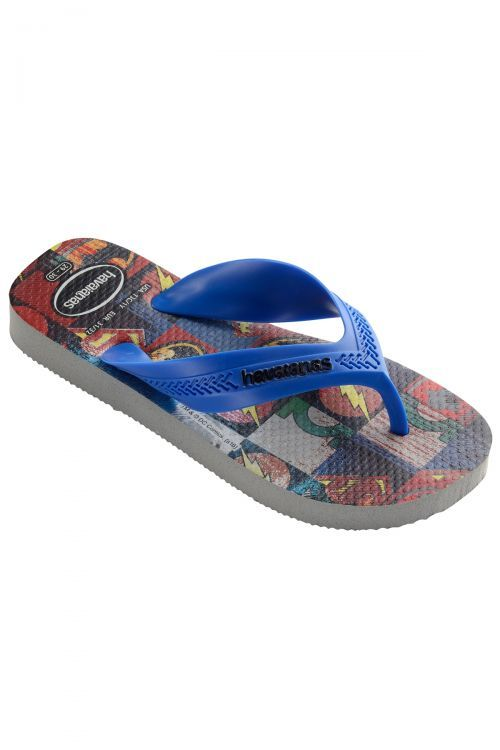 HAVAIANAS SANDALS KIDS MAX HEROIS - Ice Grey